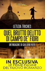 Quel brutto delitto di Campo de' Fiori Book Cover