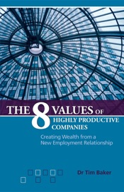 THE 8 VALUES OF HIGHLY PRODUCTIVE COMPANIES