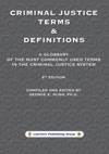 Criminal Justice Terms  Definitions