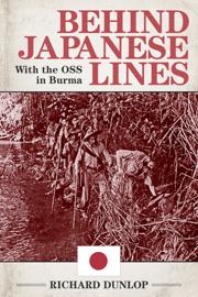 Behind Japanese Lines book