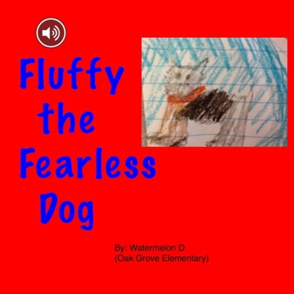Fluffy the Fearless Dog image