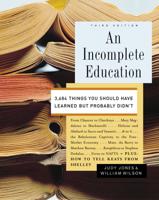 Judy Jones & William Wilson - An Incomplete Education artwork