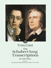 The Schubert Song Transcriptions for Solo Piano/Series I