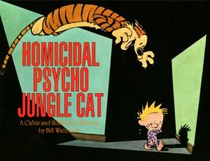 Homicidal Psycho Jungle Cat Book Cover