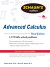 Schaums Outline Of Advanced Calculus Third Edition