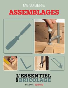 Techniques de base - Menuiserie : assemblages (L'essentiel du bricolage) Couverture de livre