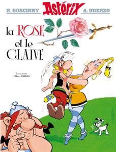 Asterix - La Rose et le glaive - n°29 La couverture du livre martien