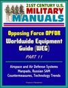 21st Century US Military Manuals Opposing Force OPFOR Worldwide Equipment Guide WEG Part 11 - Airspace And Air Defense Systems Manpads Russian SAM Countermeasures Technology Trends