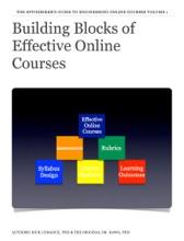 Building Blocks Of Effective Online Courses