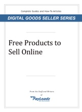Free Products To Sell Online
