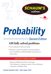 Schaum's Outline of Probability, Second Edition Book Cover
