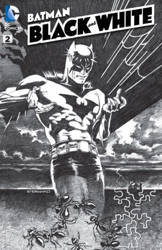 Rafa Dias, Dan Didio, Rafael Albuquerque, Rafa Grampa' & J.G. Jones - Batman: Black and White (2013- ) #2