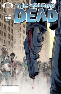 The Walking Dead #4 - Robert Kirkman & Tony Moore book