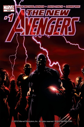 The New Avengers #1 book cover