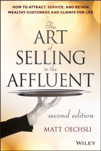 The Art of Selling to the Affluent Copertina del libro