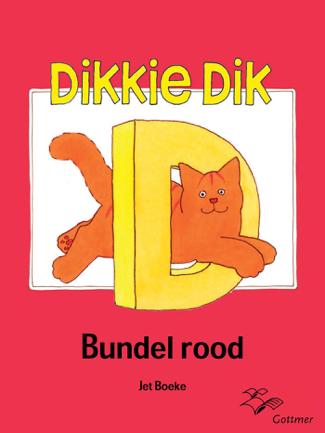 Dikkie Dik bundel rood - Jet Boeke & Arthur van Norden