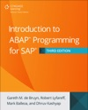 Introduction To ABAP Programming For SAP Third Edition