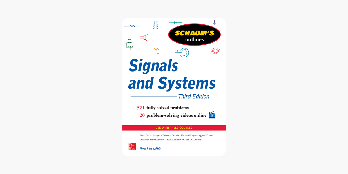 ‎Schaum's Outline of Signals and Systems, 3rd Edition