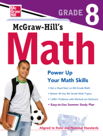 McGraw-Hill's Math Grade 8 book