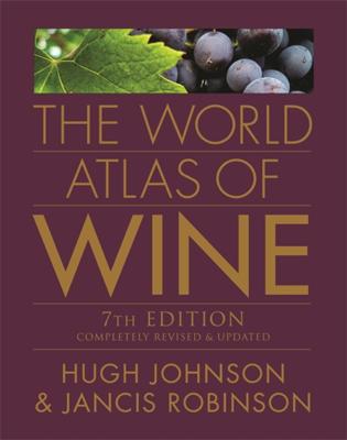 The World Atlas of Wine - 7th Edition - Hugh Johnson book