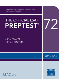 The Official LSAT PrepTest 72