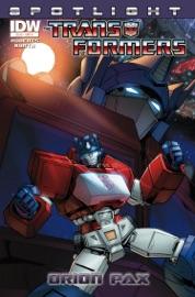Transformers Spotlight Orion Pax