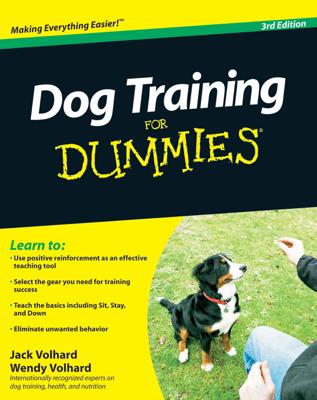 Dog Training For Dummies - Jack Volhard & Wendy Volhard book