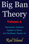Big Ban Theory: Elementary Essence Applied to Boron and Sunflower Diaries 1st, Volume 5