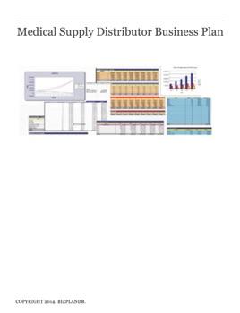 Medical Supply Distributor Business Plan