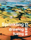 Sprinkling Drawing And Fusing Glass