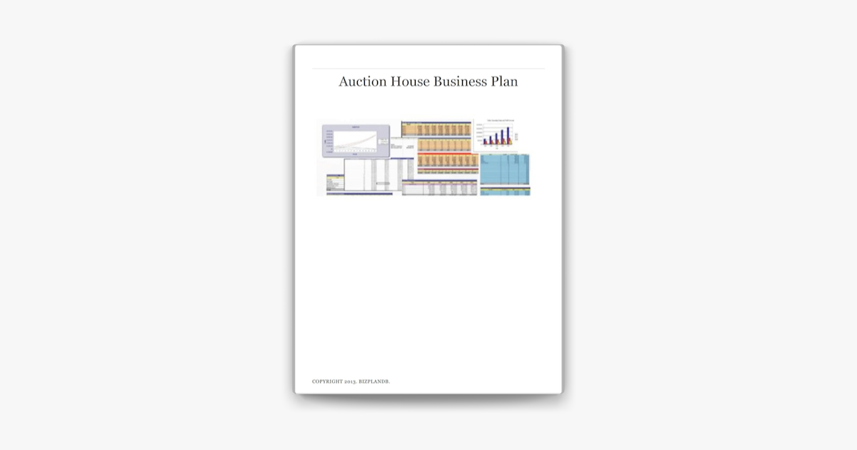 Auction house business plan collected essay liturgy modern reform rite
