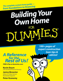 Building Your Own Home For Dummies book