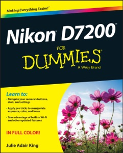 Nikon D7200 For Dummies Book Cover
