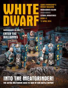 White Dwarf Issue 11: 12 April 2014 Libro Cover