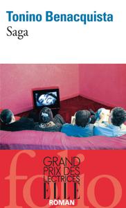 Saga La couverture du livre martien