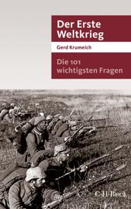 Die 101 wichtigsten Fragen - Der Erste Weltkrieg Buch-Cover