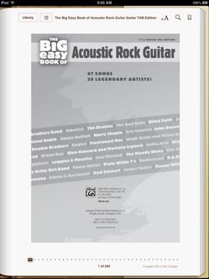 The Big Easy Book of Acoustic Rock Guitar (Easy Guitar TAB Sheet Music)