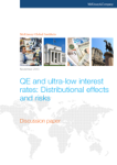 QE and Ultra-Low Interest Rates: Distributional Effects and Risks