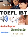TOEFL IBT Listening Set - Real Tests - 5 Full Tests - Audio Support
