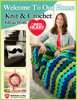 Editors of FaveCrafts - Welcome to Our Home - Knit and Crochet Ideas from Red Heart grafismos