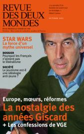 Revue des Deux Mondes octobre 2015