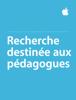 Apple Education - Recherche destinée aux pédagogues artwork