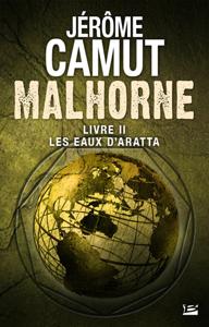 Les Eaux d'Aratta La couverture du livre martien