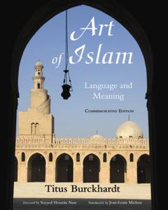 Art of Islam, Language and Meaning La couverture du livre martien