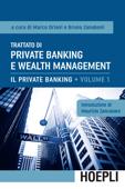 Trattato di Private Banking e Wealth Management, Vol. 1 Book Cover