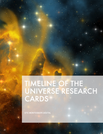 Timeline of the Universe Research Cards