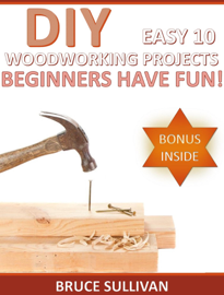 DIY Easy 10 Woodworking Projects: Beginners Have Fun! book