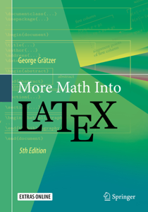 More Math Into LaTeX Libro Cover