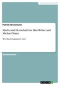 Macht und Herrschaft bei Max Weber und Michael Mann