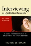 Interviewing As Qualitative Research